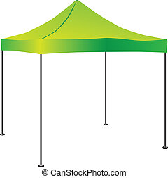popup, kommerciel, telt