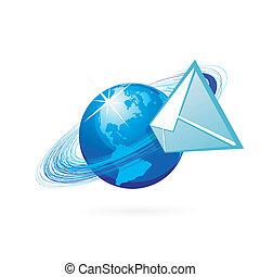 post, ikon