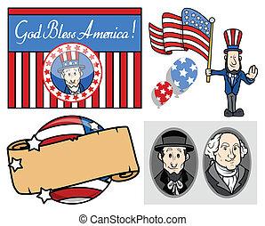 præsidents, national ferie, dag, united states