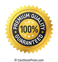 premium, kvalitet, etikette