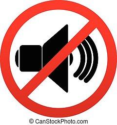 probition, mute., taler, tegn., stilhed