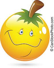 pumpkin hovede, smiley ansigt