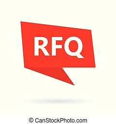 quotation), rfq, (request, speach, initialord, boble