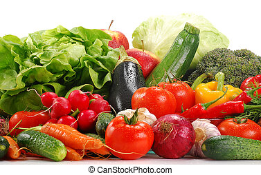 rå grønsager, mangfoldighed