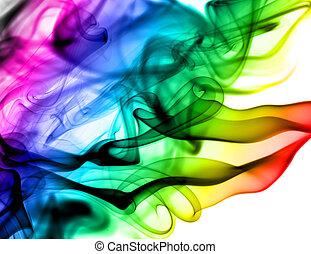 rase, abstrakt, hvid, farverig, mønstre