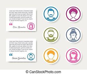 ratings, folk, feedback, avatar, iconerne