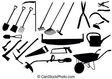 redskaberne, gartneriet, samling
