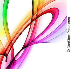 regnbue, abstrakt