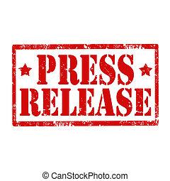 release-stamp, presse