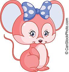 sød, mus