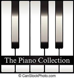 samling, piano