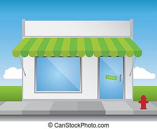 shop forside