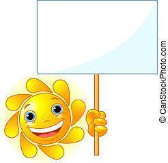 show, tegn, sol