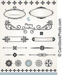 side, dekorationer