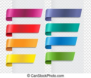 silke, baggrund, bånd, sæt, transparent, farverig