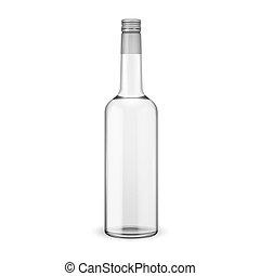 skrue, vodka, cap., flaske, glas