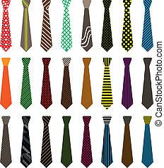 slips, mænd, illustration