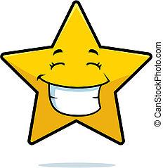 smil, stjerne