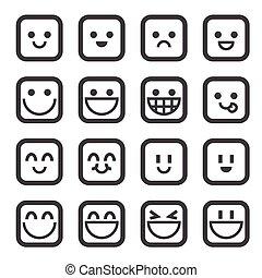 smile, ikon