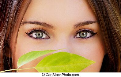 smukke øjne