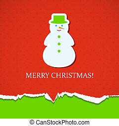 snemand, jul, baggrund