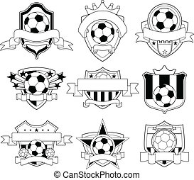 soccer, emblem