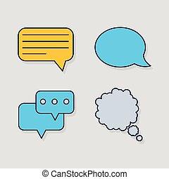 sociale, medier, bobler