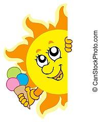 sol, lurking, icecream