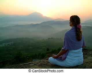 sol, meditatio, opblussende