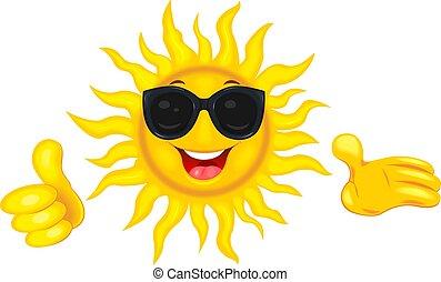 sol, sunglasses, glade
