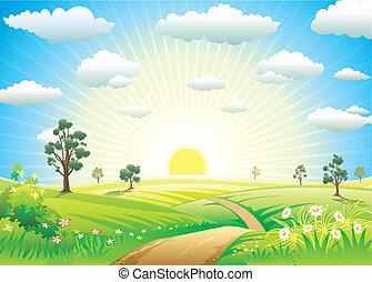 solfyldt, eng