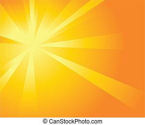 solskin, baggrund