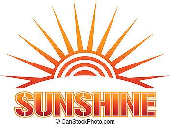 solskin, ikon