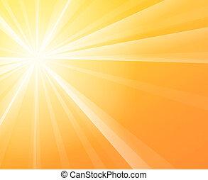 solskin, solfyldt