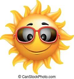 sommer, sol, sunglasses, zeseed