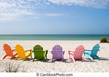 sommer, strand ferie