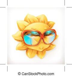 sommer, sunglasses, sol