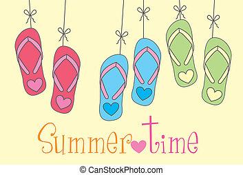 sommer tid