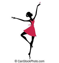 sommerfugl, graceful danser
