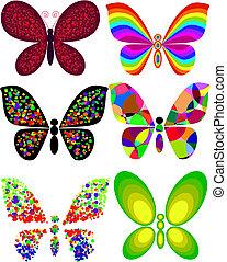 sommerfugl, kunstneriske