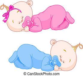 sov, babyer