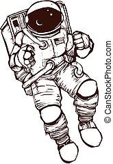space tøjsæt