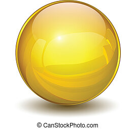 sphere, guld