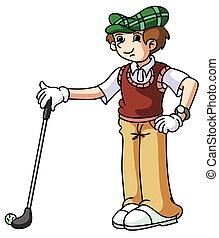 spiller, golf
