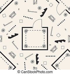 stair, seamless, rum, mønster, baggrund, plan, vindue, monochrome, grid, belysning
