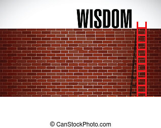 stige, konstruktion, wisdom., illustration