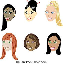 straighthairstyles