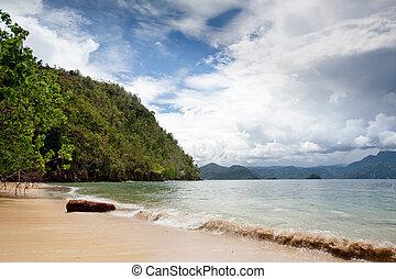 strand, paradis