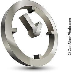 stueur, 3, ikon, tid