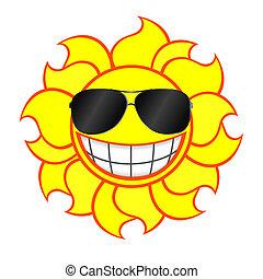 sunglasses, slide, smile sol